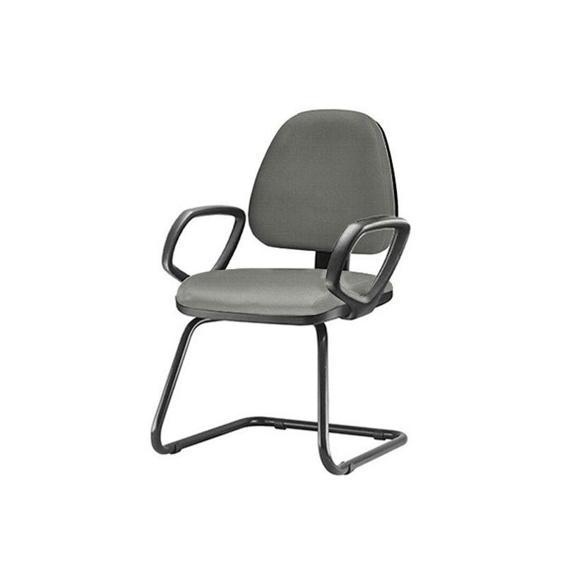 Cadeira-Sky-com-Bracos-Fixos-Assento-Crepe-Cinza-Escuro-Base-Fixa-Preta---54831
