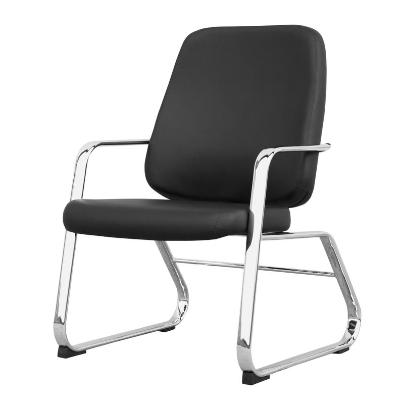 Cadeira-Maxxer-Diretor-Assento-Courino-Preto-Base-Fixa-Cromada---54855