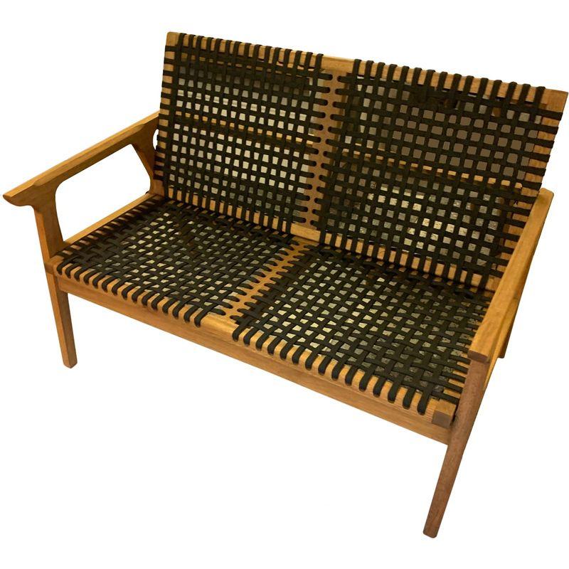 Sofa-Trama-2-Lugares-Corda-Trancada-Preta-com-Estrutura-Madeira-cor-Stain-Jatoba---53171
