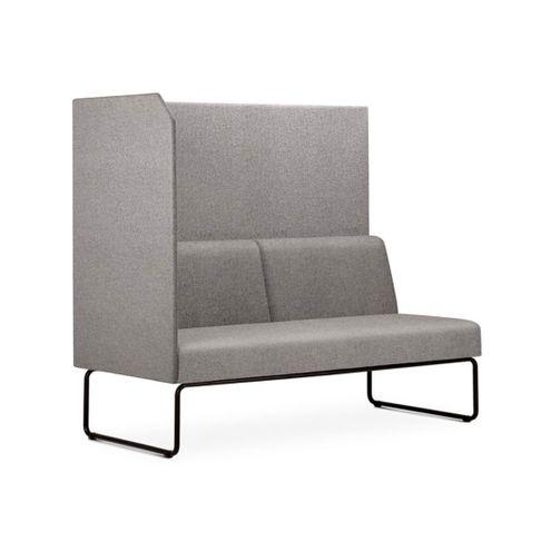 Sofa-Privativo-Pix-com-Lateral-Direita-Aberta-Assento-Mescla-Cinza-Claro-Base-Aco-Preto---54980