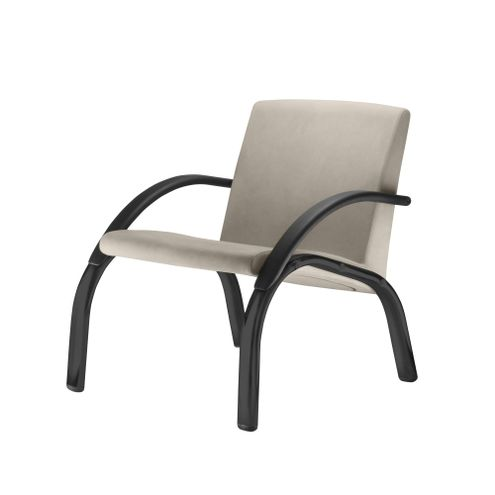 Poltrona-Harmony-Lounge-Assento-Crepe-Bege-com-Bracos-e-Base-Preta---55026
