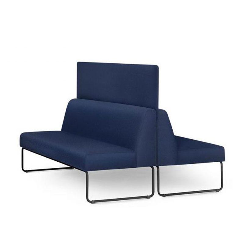 Sofa-Pix-com-2-Unidades-e-Painel-Divisor-Assento-Courino-Azul-Base-Aco-Preto---55065