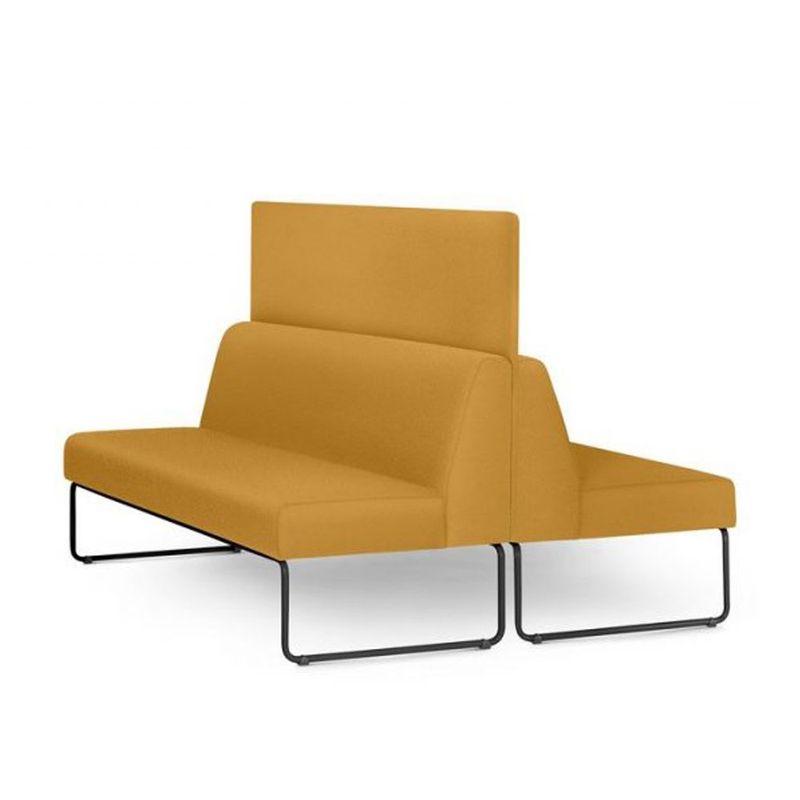 Sofa-Pix-com-2-Unidades-e-Painel-Divisor-Assento-Crepe-Mostarda-Base-Aco-Preto---55066