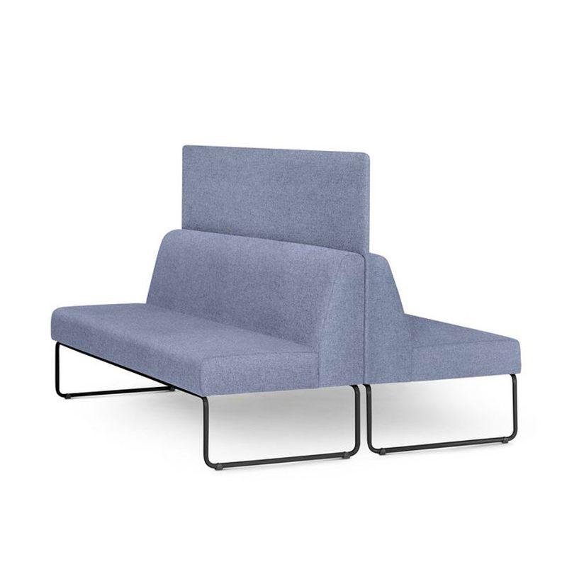 Sofa-Pix-com-2-Unidades-e-Painel-Divisor-Assento-Mescla-Azul-Base-Aco-Preto---55071
