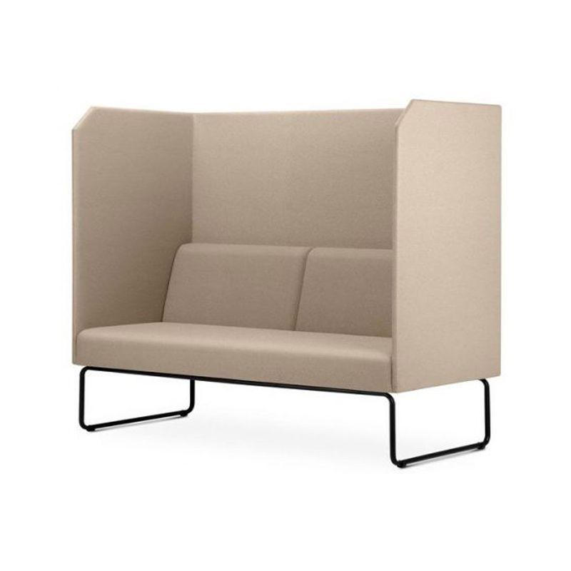 Sofa-Privativo-Pix-com-Divisoria-e-Assento-Courino-Bege-Base-Aco-Preto---55084