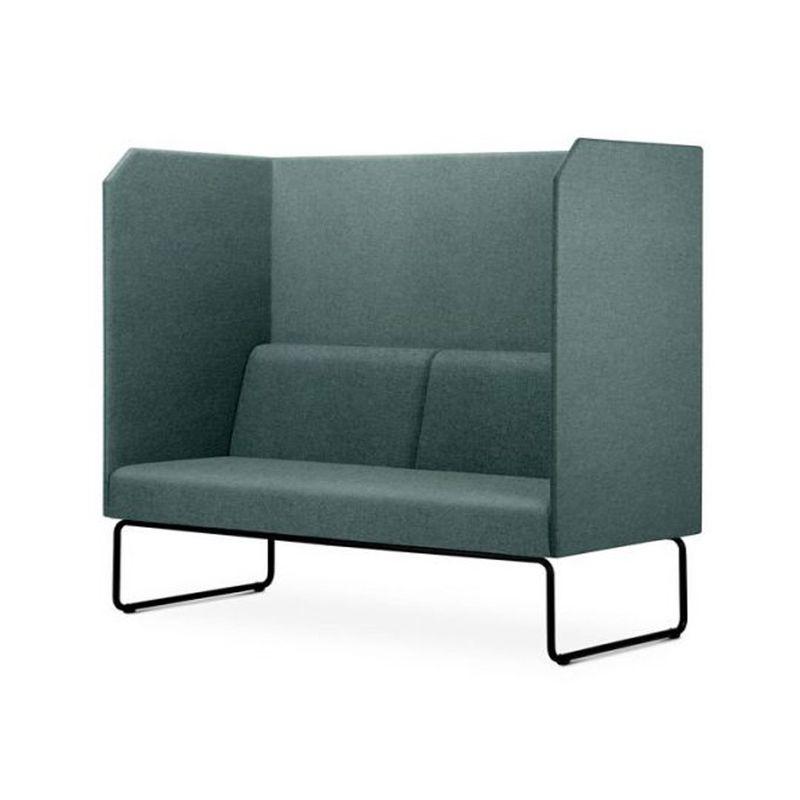 Sofa-Privativo-Pix-com-Divisoria-e-Assento-Mescla-Verde-Base-Aco-Preto---55075