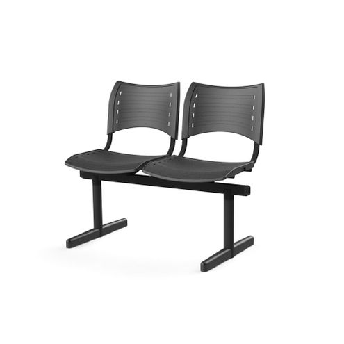 Longarina-Iso-com-2-Lugares-Assento-e-Base-Preta---55243