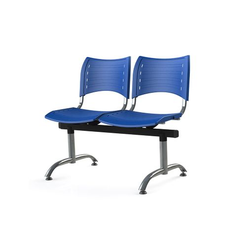 Longarina-Iso-com-2-Lugares-Assento-Azul-Base-Cromada---55245