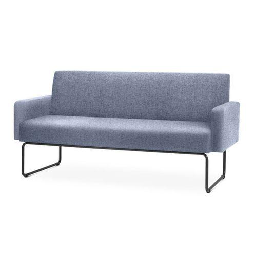 Sofa-Pix-com-Bracos-Assento-Mescla-Azul-Base-Aco-Preto---55106