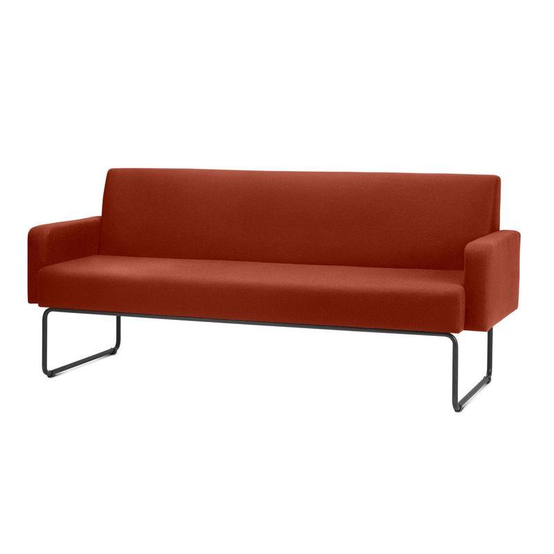 Sofa-Pix-com-Bracos-Assento-Mescla-Vermelho-Base-Aco-Preto---55108
