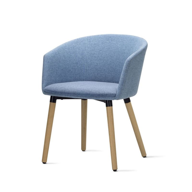Poltrona-Pix-Assento-Mescla-Azul-Base-Fixa-em-Madeira---55349