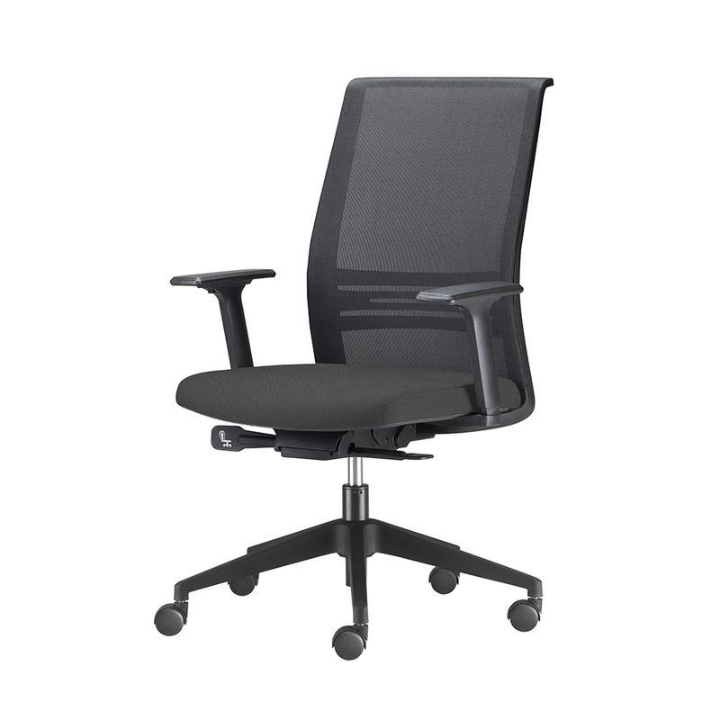 Cadeira-Agile-Presidente-Assento-Courino-Preto-Base-Nylon-Piramidal-e-Rodizio-em-Nylon---55687