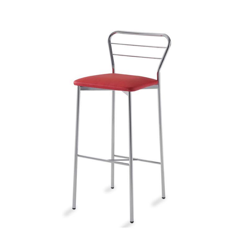 Banqueta-Funi-Assento-Dunas-Vermelho-Estrutura-Cinza-76-cm--ALT----55815-