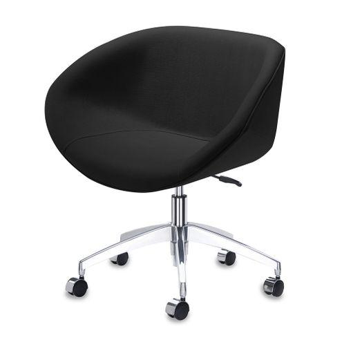 Poltrona-Smile-Assento-Estofado-em-Courino-Preto-Base-Rodizio-em-Aluminio---55845-