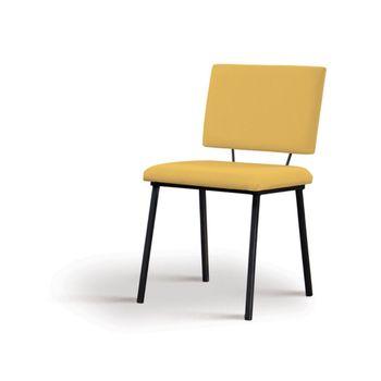 Cadeira-Preciosa-Amarela-Base-Preta---55858