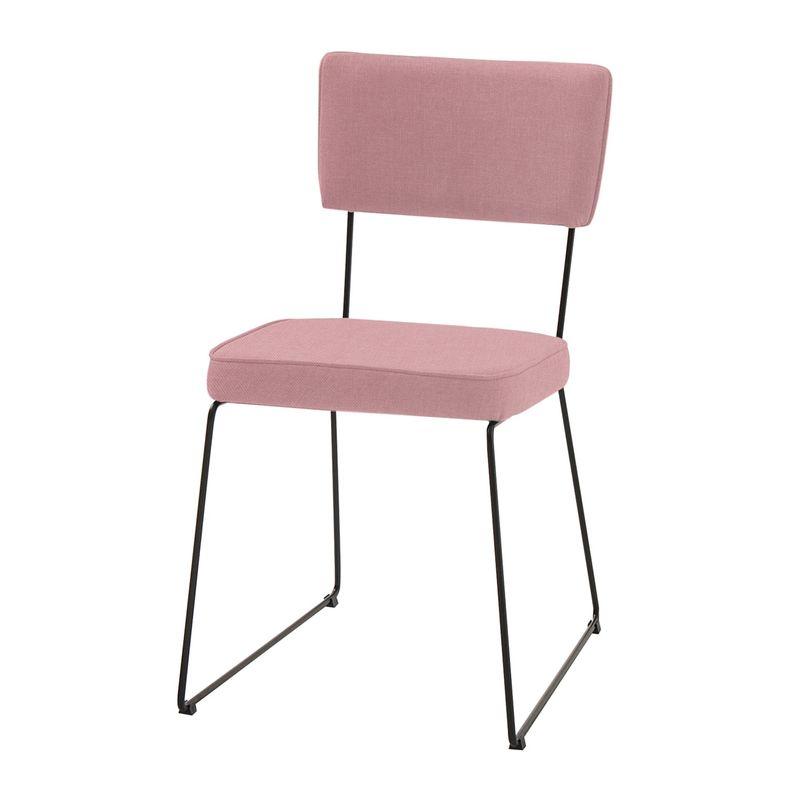 Cadeira-Milan-Coral-Base-Preta---55891