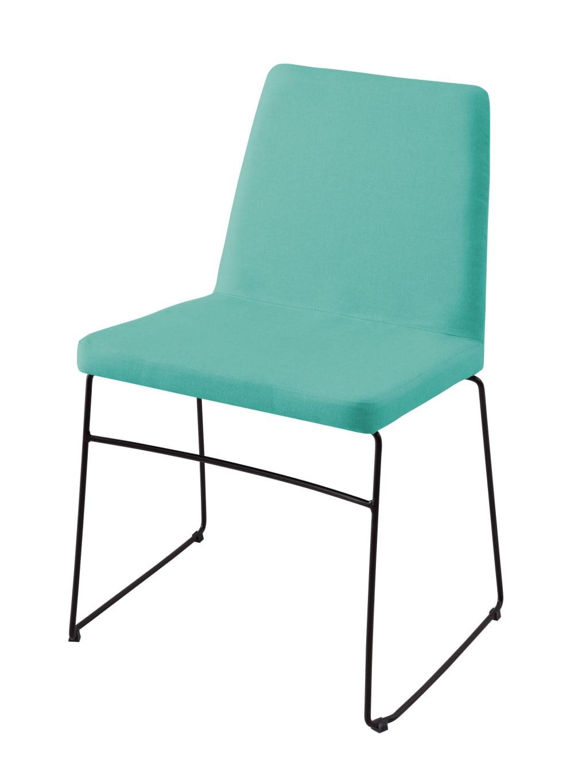 Cadeira Avec Verde Base Preta - 55908