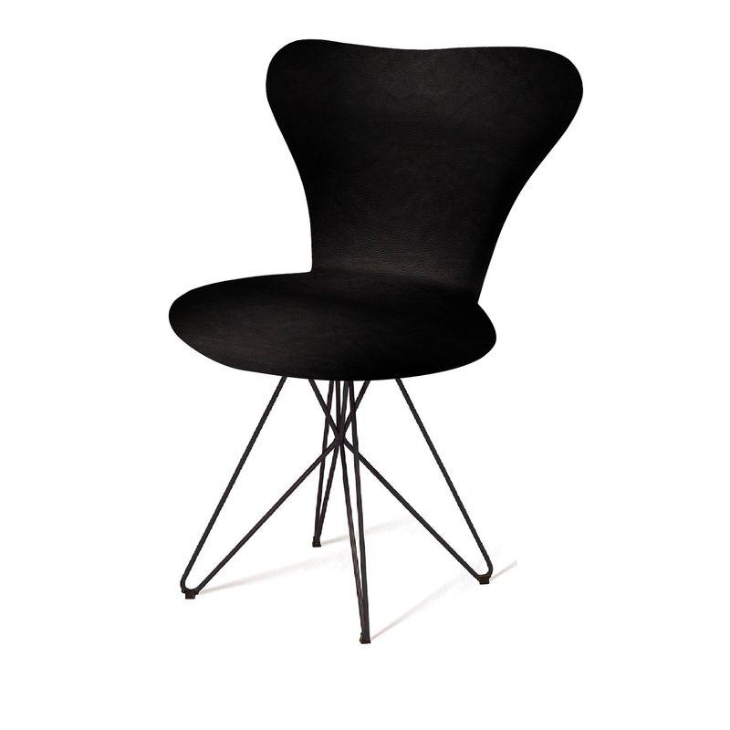 Cadeira-Jacobsen-Series-7-Preta-com-Base-Estrela-Preta---55921-
