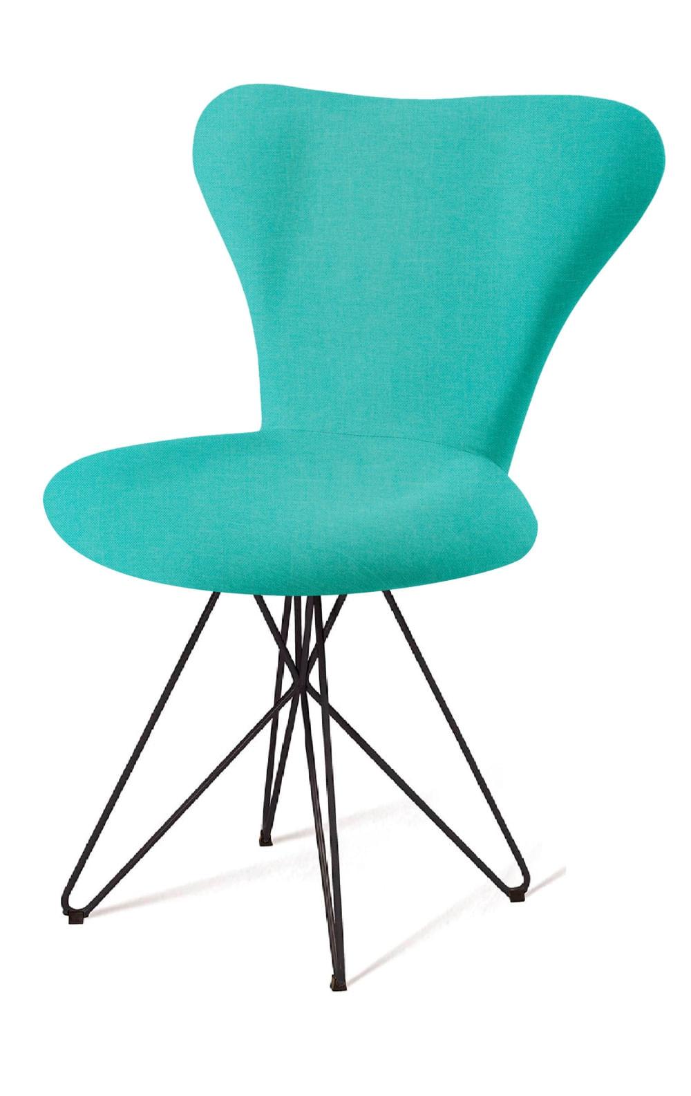 Cadeira Jacobsen Series 7 Verde com Base Estrela Preta - 55922