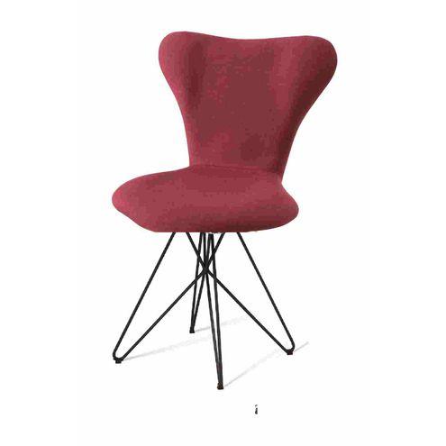 Cadeira-Jacobsen-Series-7-Marsala-com-Base-Estrela-Preta---55926-