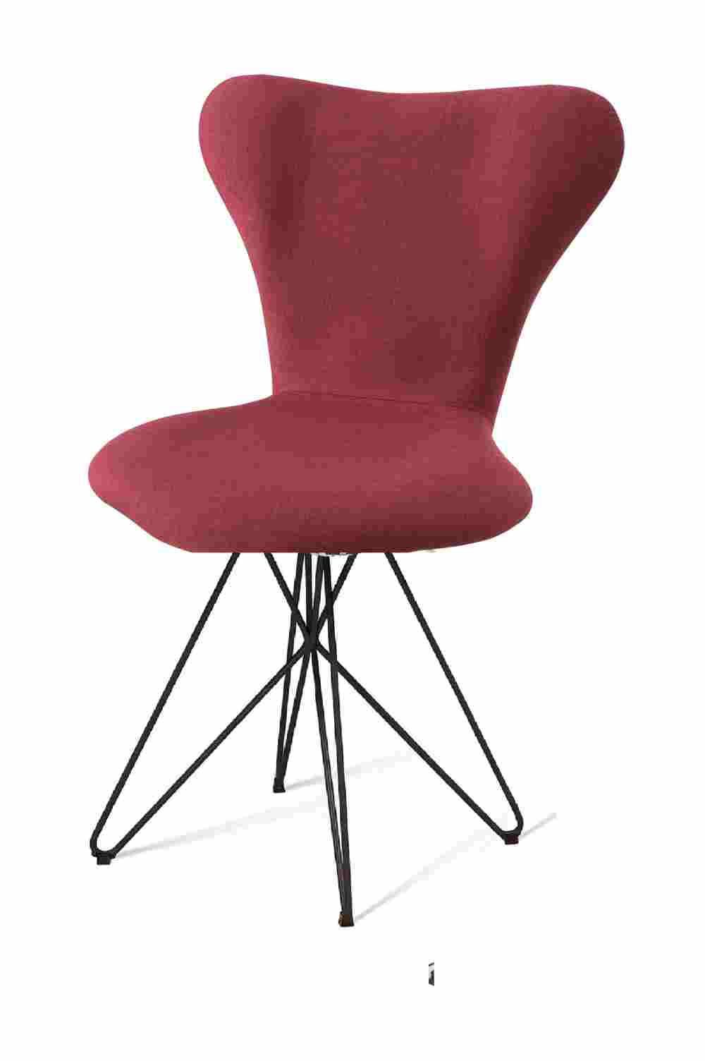 Cadeira Jacobsen Series 7 Marsala com Base Estrela Preta - 55926