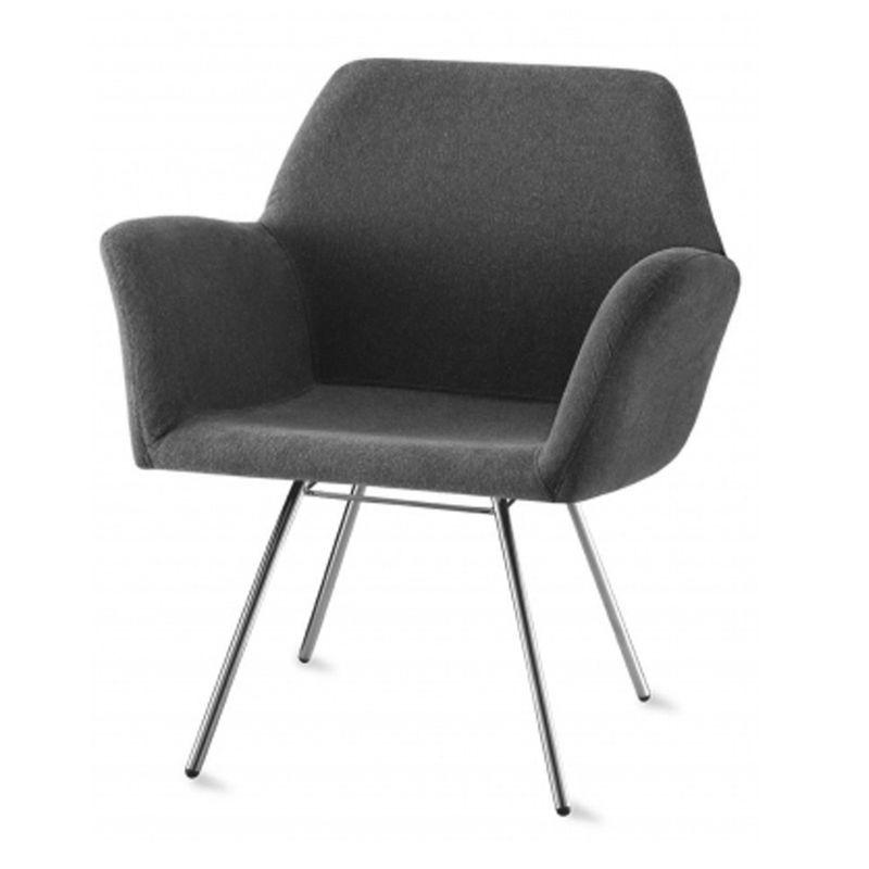 Poltrona-Miro-Assento-Estofado-Rustico-Preto-Base-Cromada---55869