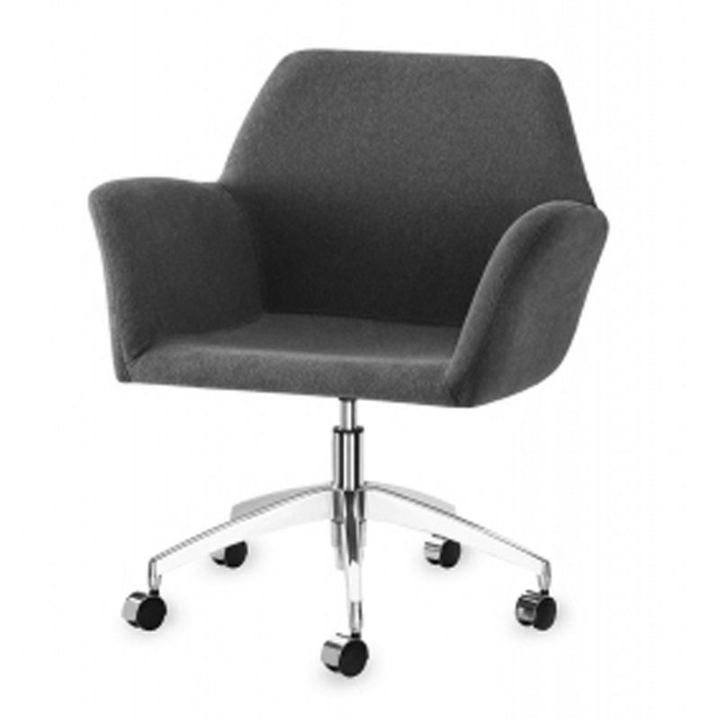 Poltrona-Miro-Assento-Estofado-Rustico-Preto-Base-Rodizio-em-Aluminio---55873-