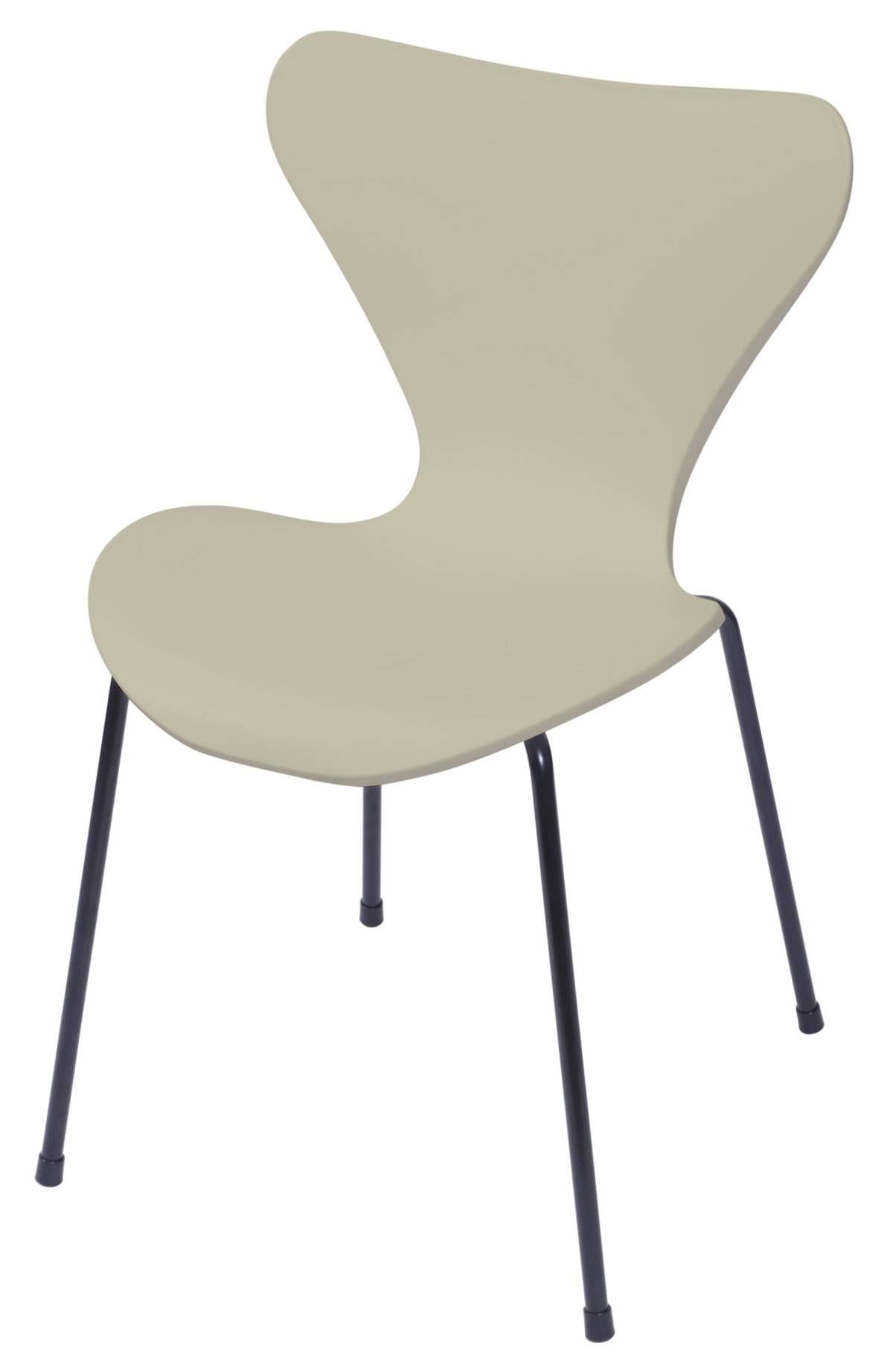 Cadeira Jacobsen Series 7 Polipropileno Fendi com Base Metal - 55943