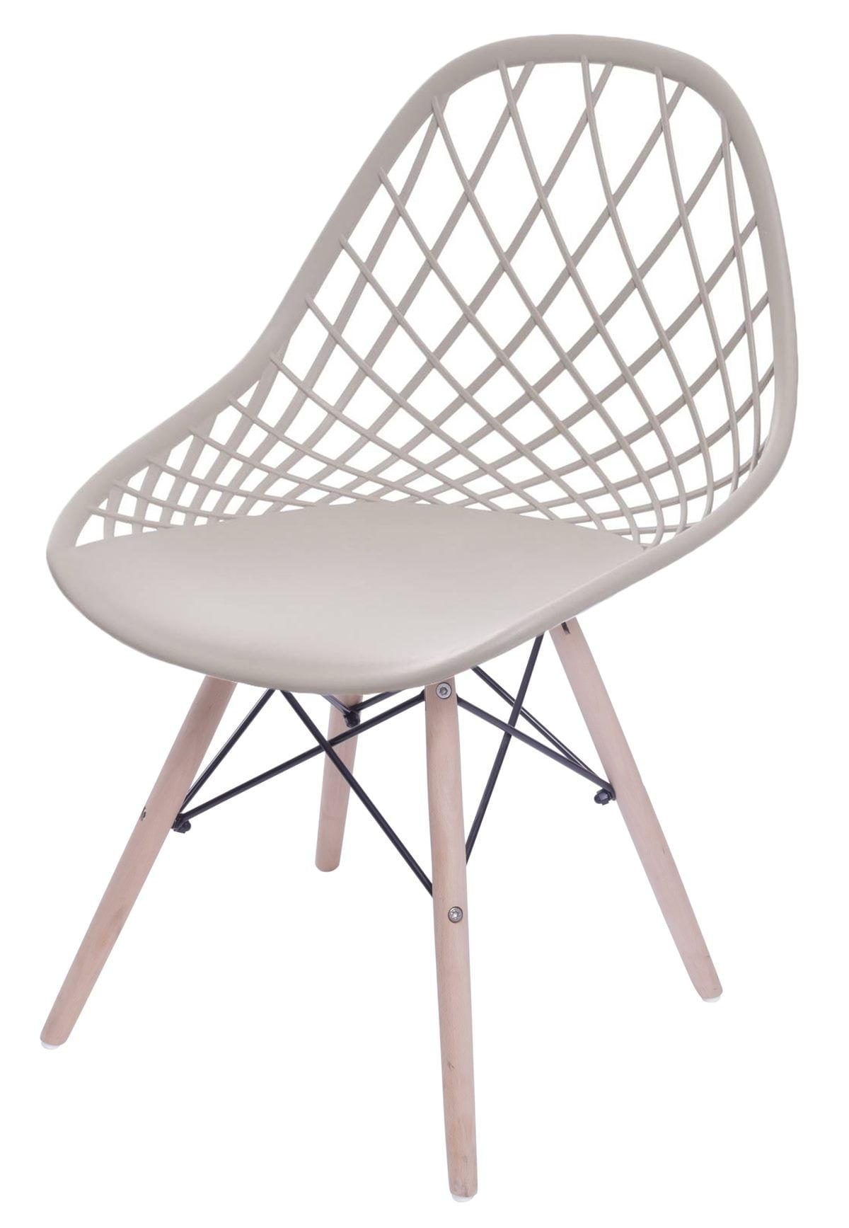 Cadeira Boom Polipropileno Fendi com Base Madeira - 55931