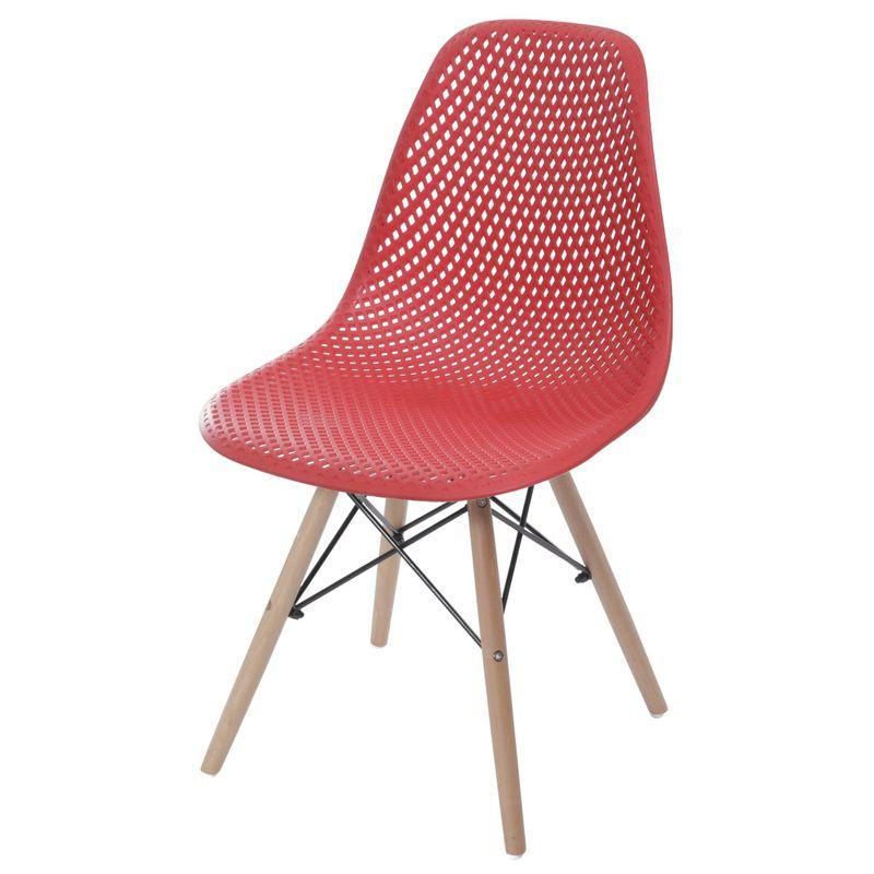 Cadeira-Eames-Furadinha-cor-Vermelho-com-Base-Madeira---55983