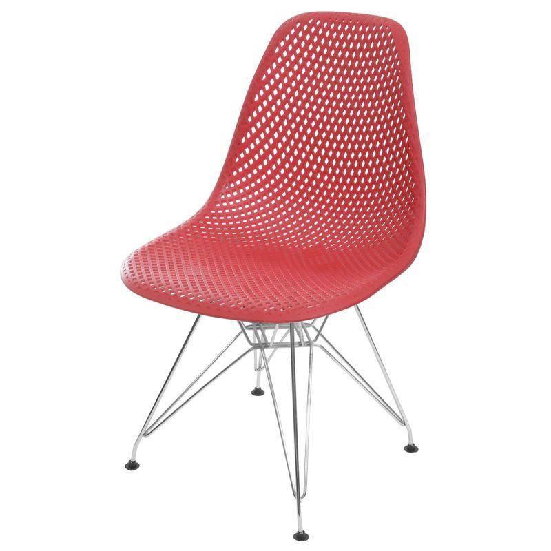 Cadeira-Eames-Furadinha-cor-Vermelho-com-Base-Cromada---55988