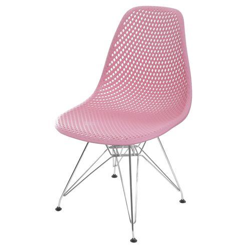Cadeira-Eames-Furadinha-cor-Rosa-com-Base-Cromada---55990