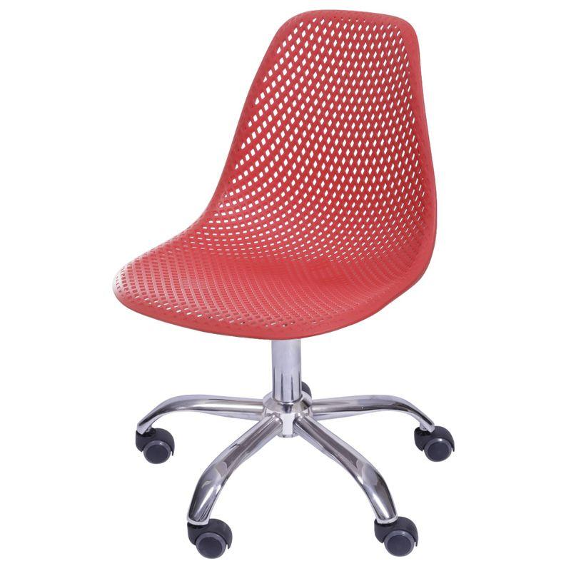 Cadeira-Eames-Furadinha-cor-Vermelho-com-Base-Rodizio---55993
