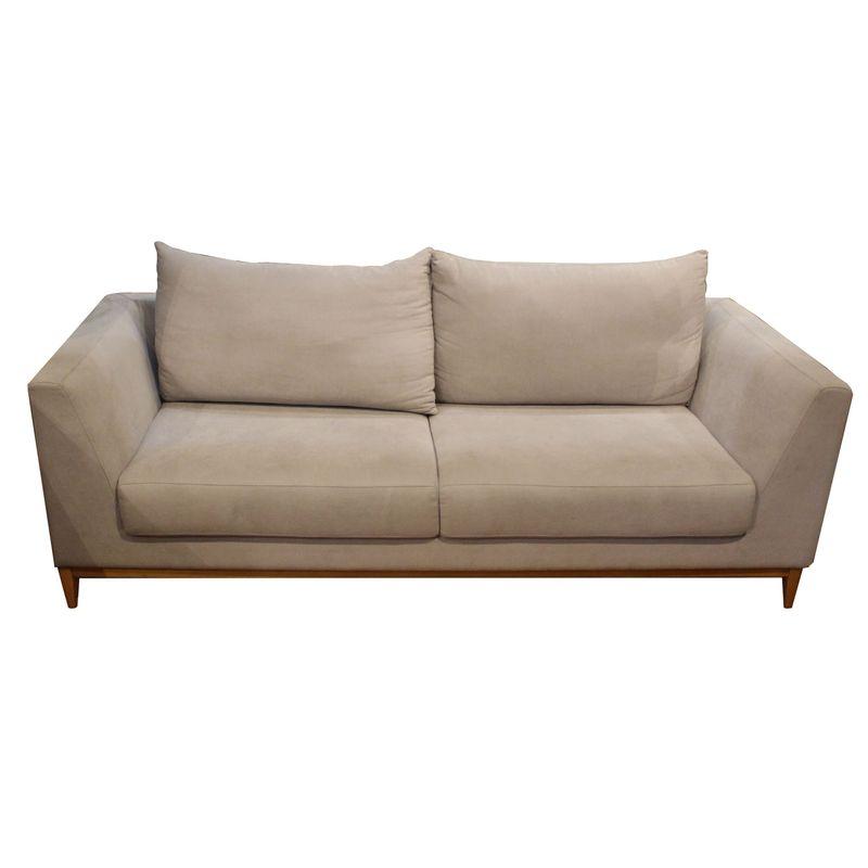 Sofa-Theodora-com-2-Lugares-Assento-Veludo-Fendi-Base-Madeira-Cor-Mel---50614