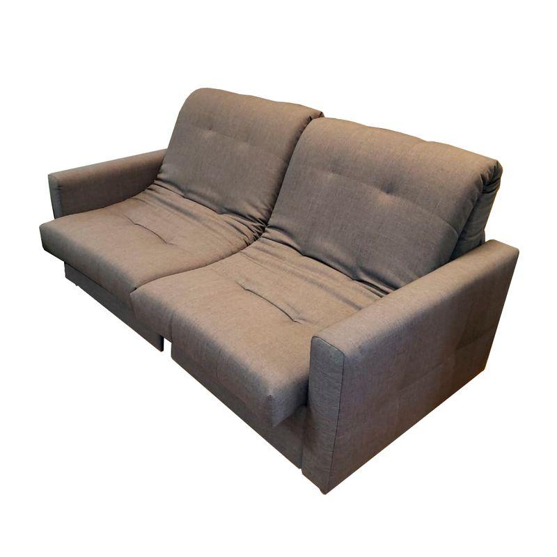 Sofa-Cama-New-com-2-Lugares-Assento-Courino-Cinza-Base-Aco-Preta---45377-
