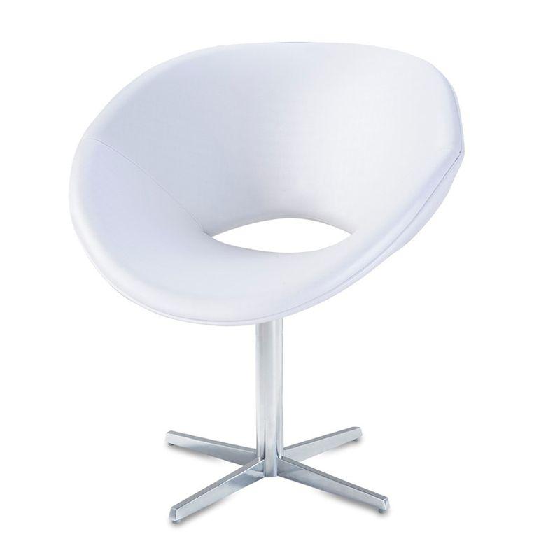 Poltrona-Tok-Assento-Courino-Branco-Base-Fixa-em-Aluminio---56021
