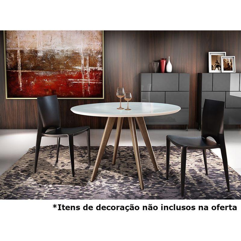 Mesa-de-Jantar-Uni-com-Tampo-de-Vidro-Off-White-Redondo-Base-Madeira-Mel-98-cm--DIAM----44218