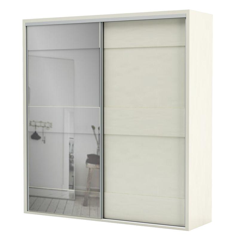 Armario-Premium-com-Espelho-2-Portas-e-2-Gavetas-cor-Off-White-223-MT--LARG----56459