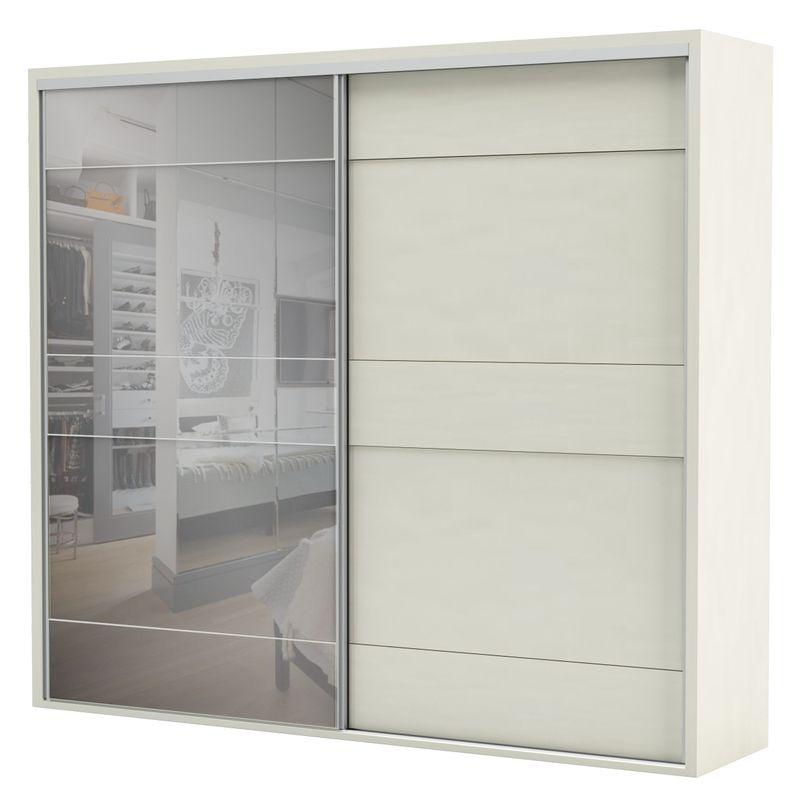 Armario-Premium-com-Espelho-2-Portas-e-4-Gavetas-cor-Off-White-267-MT--LARG----56462
