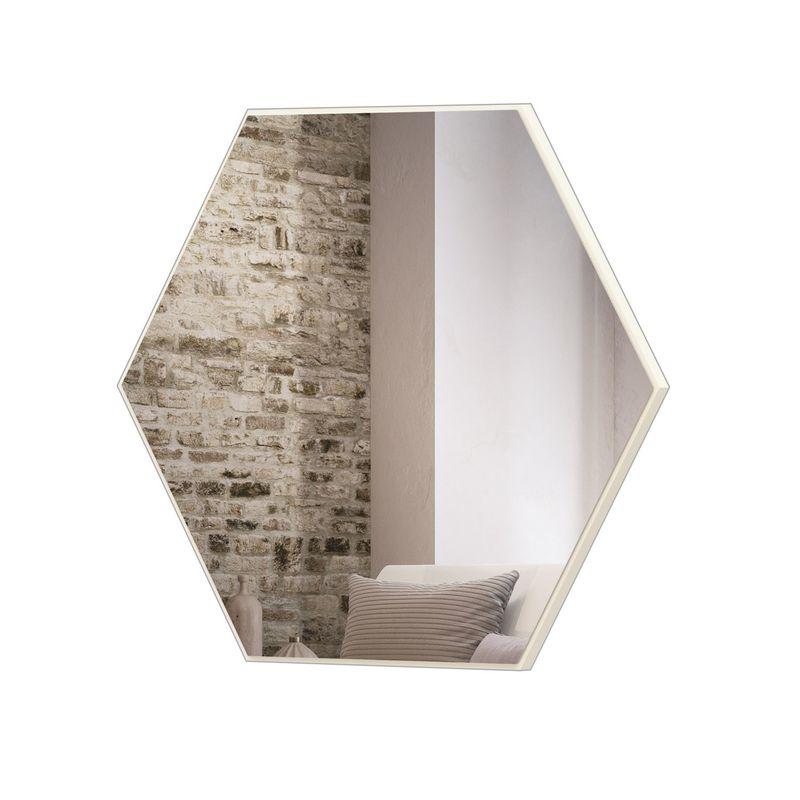 Espelho-Hexagono-Logus-Grande-cor-Off-White-Brilho-69-cm--LARG----56528