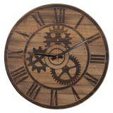 Relogio-Design-Industrial-Engranagem-Romano-em-Madeira-cor-Walnut-61-cm--DIAM----56578-