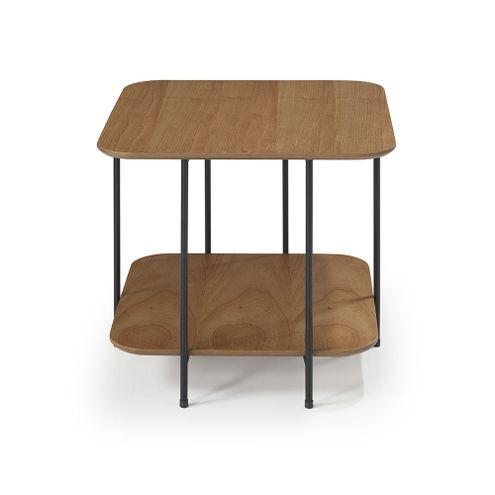 Mesa-Lateral-Logica-52-cm--ALT--cor-Amendoa-com-Estrutura-em-Ferro-Preto---56933