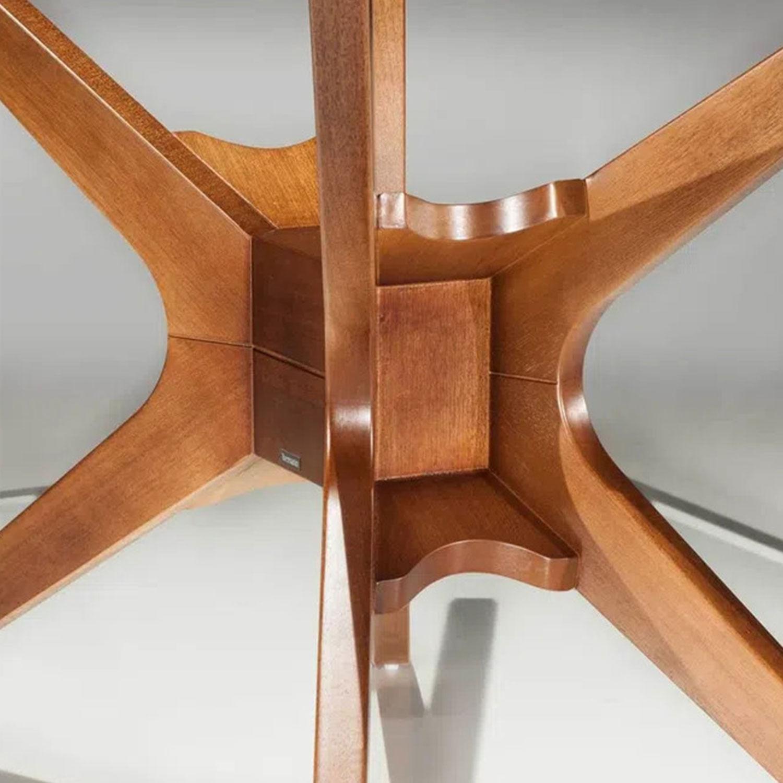 Base Mesa de Jantar Quadrada XS cor Nogal 72 cm (LARG) - 18151