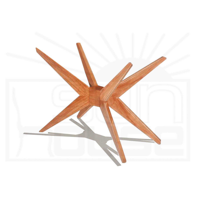 Base Mesa de Jantar Quadrada XS cor Mel 72 cm (LARG) - 57100