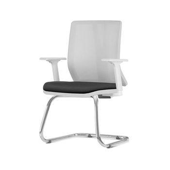 Cadeira-Addit-Diretor-Assento-Crepe-Preto-Base-Fixa-Cromada---57150