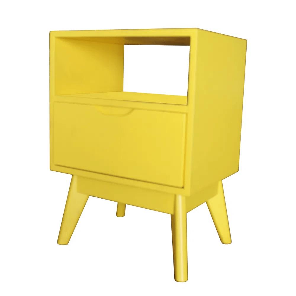 Mesa de Cabeceira ON Amarela - 57210