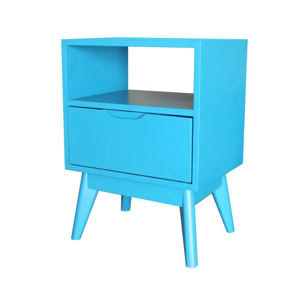 Mesa de Cabeceira ON Azul - 57211
