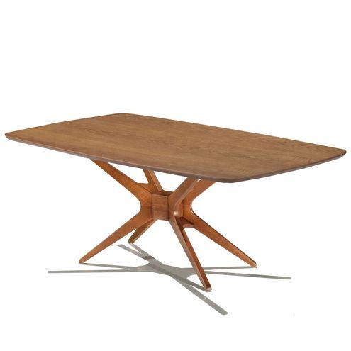 Mesa-de-Jantar-XS-com-Tampo-Retangular-Nogueira-Base-Nogal-180-MT--LARG----57285