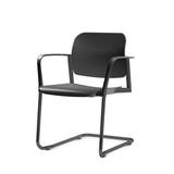 Kit-5-Cadeiras-Leaf-com-Bracos-Base-Fixa-Preta---57347