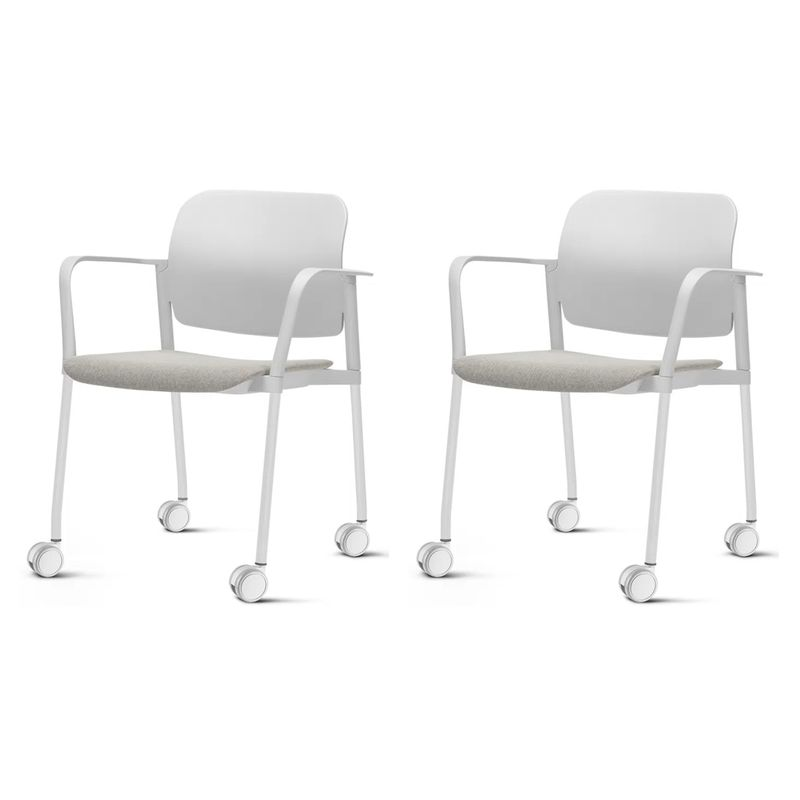 Kit-2-Cadeiras-Leaf-com-Bracos-Assento-Estofado-Branco-Base-Rodizio-Branco---57391